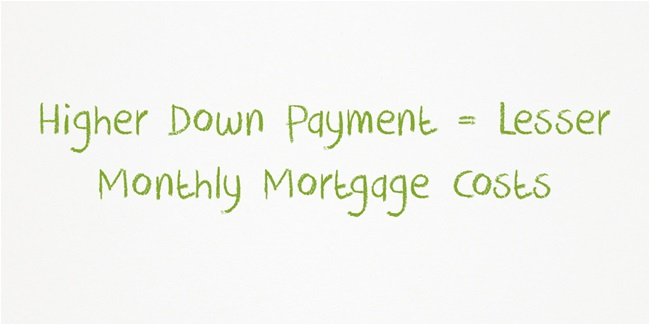 For large loan amounts, be prepared to provide an even higher down payment.