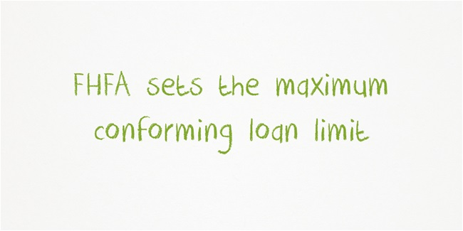 fhfa sells the maximum conforming loan limits